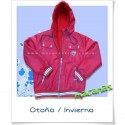 "Campera rompeviento con polar ""universitaria"""