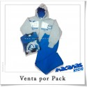Pack pant jogging+campera +remera