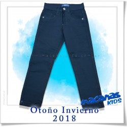 pantalon elastizado color