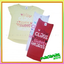 Remera Sweet hearts
