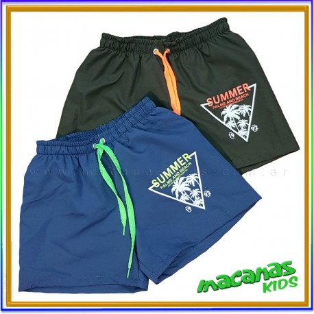 Curva x7 shorts baño SUMMER