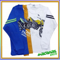 Curva x 7 remeras motos